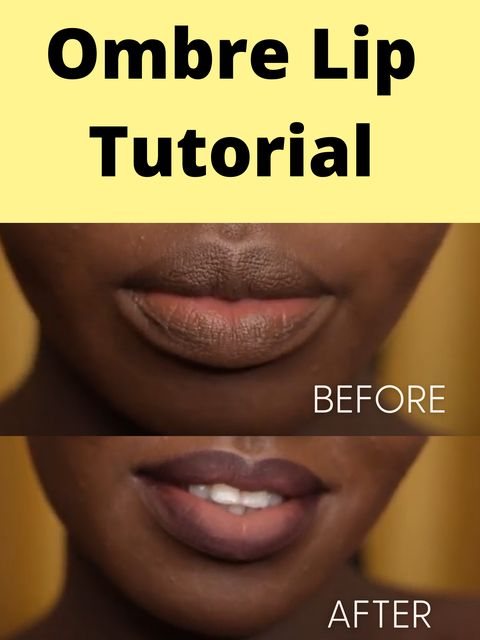 How to make a Perfect Ombre Lip Look?
