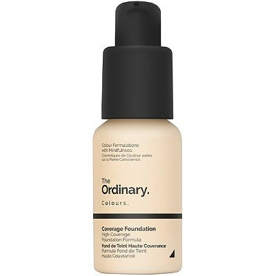 Colours Coverage Foundation with SPF 15