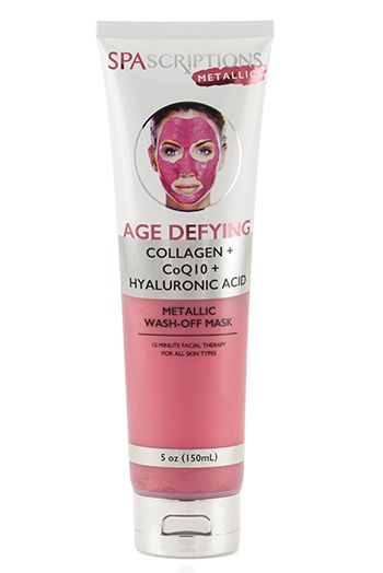 Age Defying Metallic Wash-Off Mask