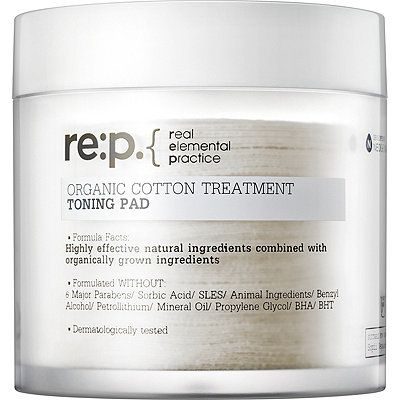 Re:P. Organic Cotton Treatment Toning Pad