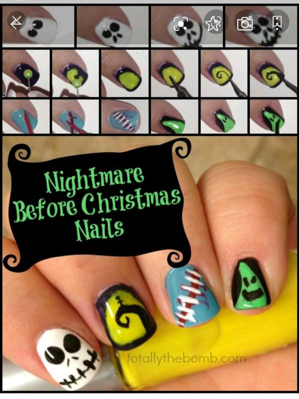 another cute Halloween nail design | Cherie