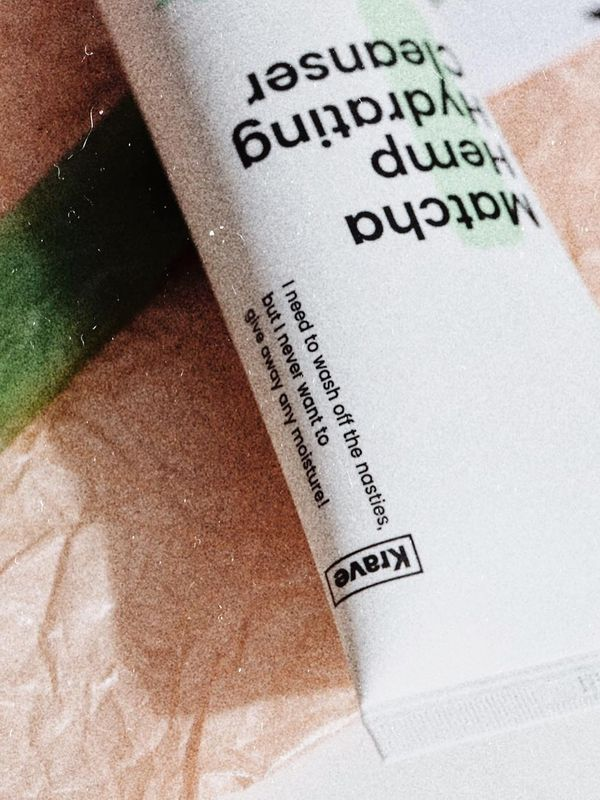 """🌿 I'm craving you krave beauty 〰️ 🍵Matcha Hemp Hydrating Cleanser: """"I need to wash... 