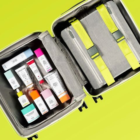 All the skincare you can buy all in one trunk!