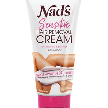 Sensitive Hair Removal Cream, Nad's, cherie