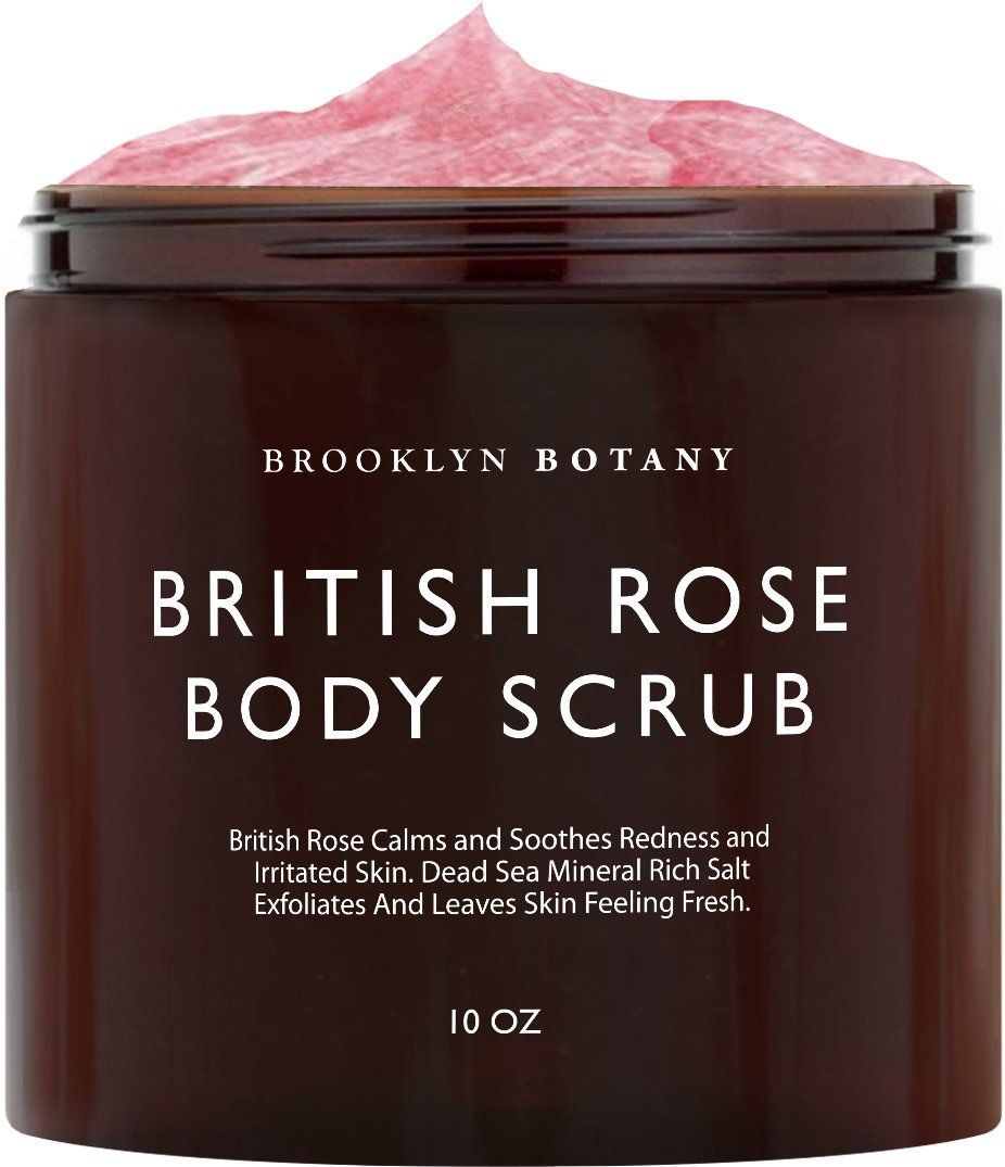 British Rose Body and Face Scrub