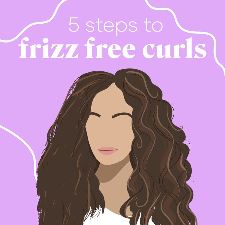Five Steps to Frizz-Free Curls