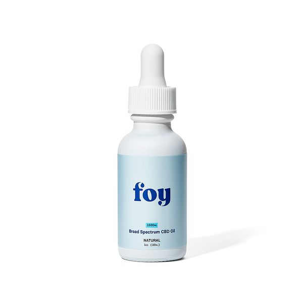 Organic CBD Oil - 1500mg (Extra Strength), FOY, cherie