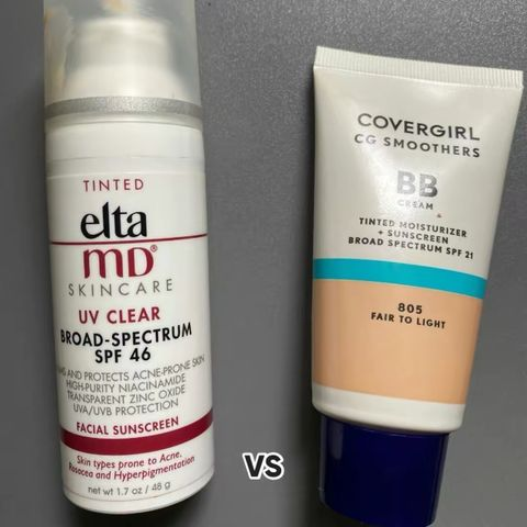 Elta MD UV Clear Tinted SPF 46 Dupe!!😱😱