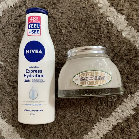 Body Lotion: Old Versus New!