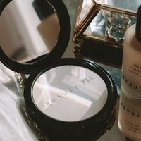 Setting powders for oily skin