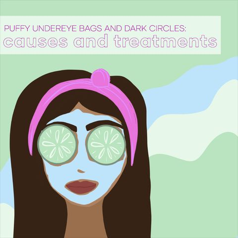 Puffy Under Eye Bags And Dark Circles: Causes And Treatments