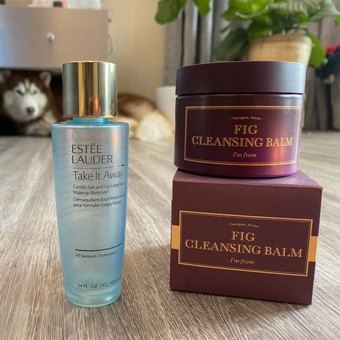 Good old oil cleanser & my first cleansing balm