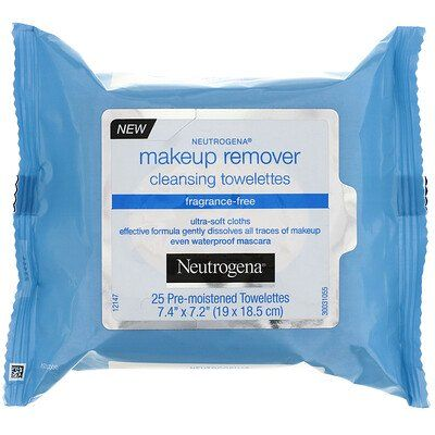 Fragrance Free Makeup Remover Cleansing Towelettes