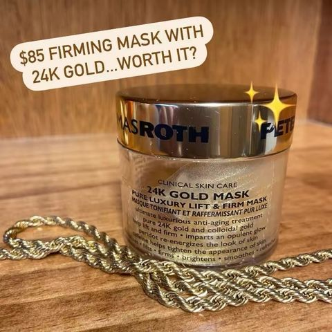 💰Peter Thomas Roth 24K Gold Lift & Firm Mask