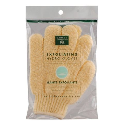 exfoliating gloves!