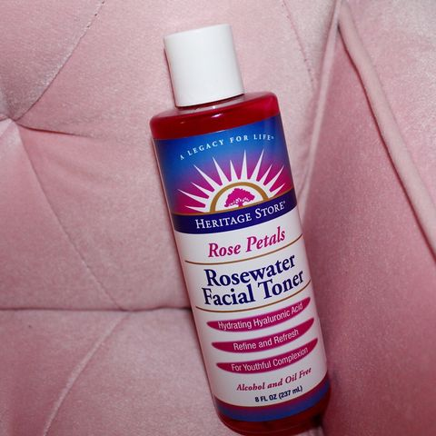 The Best toner for dry skin! Rosewater 🌹