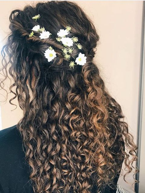 5 Minutes To Style Your Curly Hair💖