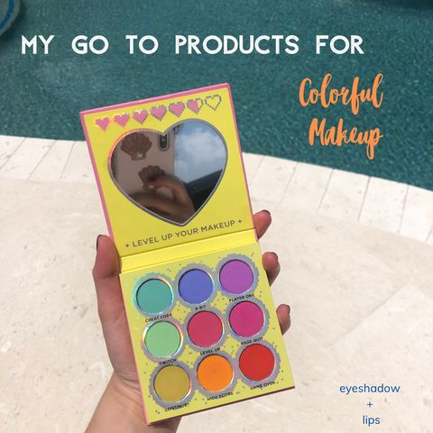 My Go To Products for Vibrant Makeup