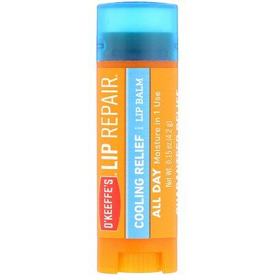 Lip Repair Cooling Relief, O'KEEFFE'S, cherie