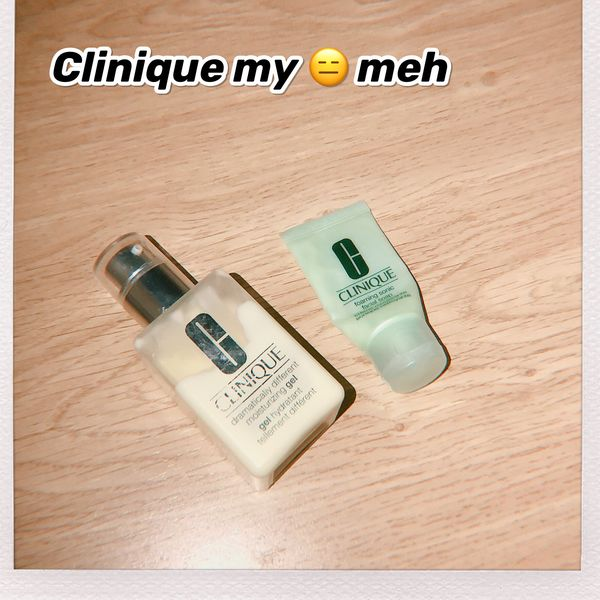 What a nightmare! I turn from oily skin to dry skin after using Clinique gel. | Cherie