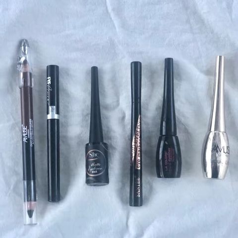 I tried other brands' Eyeliners from Shop Miss A