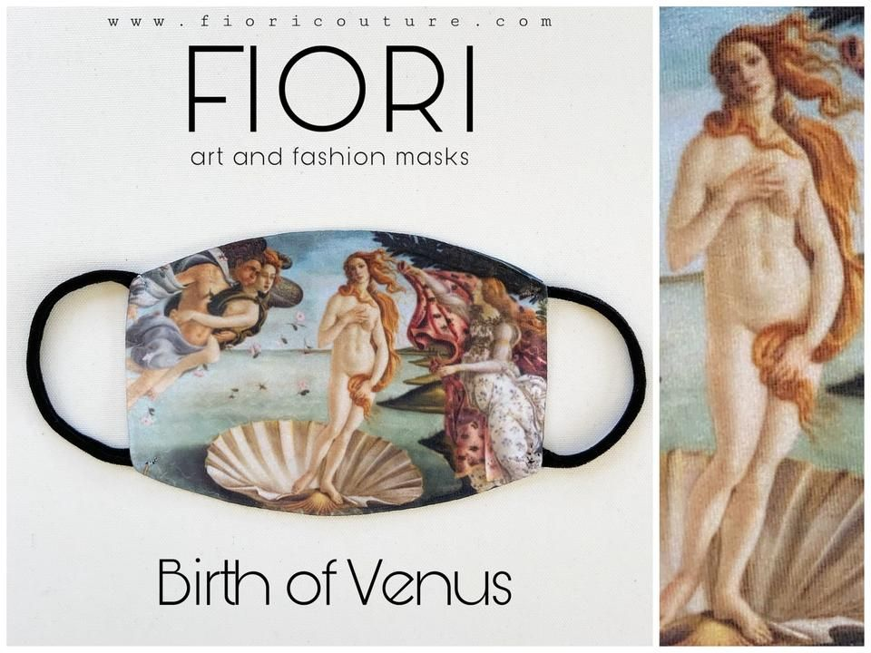The Birth Of Venus Mask