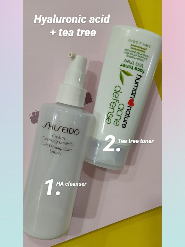 Hyaluronic Acid + Tea Tree For A Smooth, Clear Complexion  | Cherie