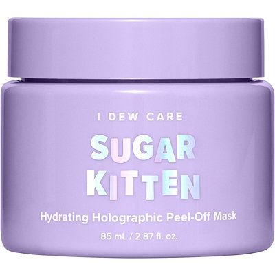 Sugar Kitten Hydrating Holographic Peel-Off Mask, I DEW CARE, cherie