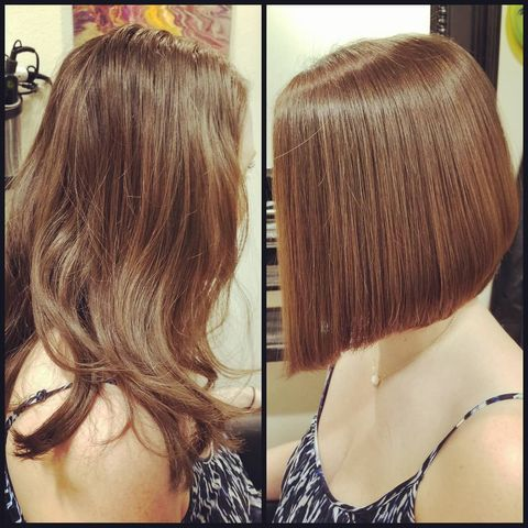 😍Short bob hair that will give you a dramatic change!