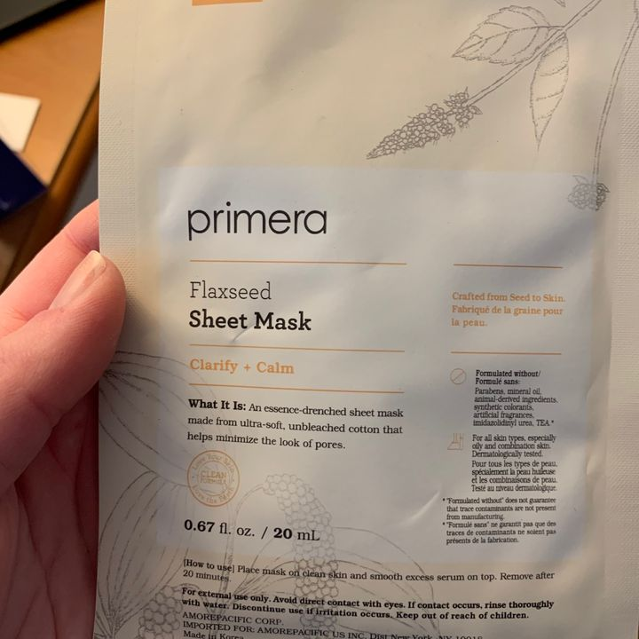 Favorite sheet mask | Cherie