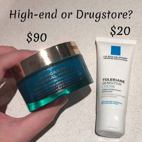 ❓Drugstore or High-End❓For the two products, my answer is...