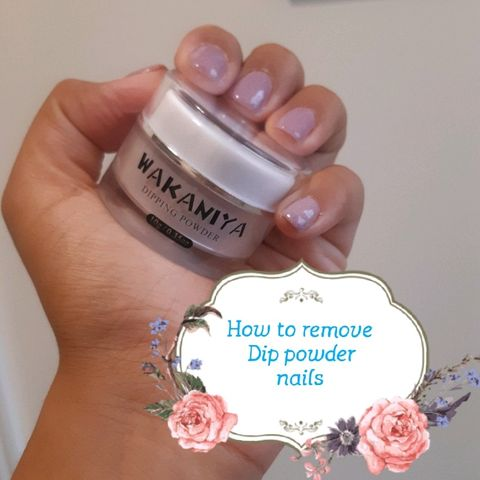 How to remove dip powder and gel nails!