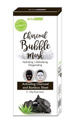CHARCOAL BUBBLE SHEET MASK