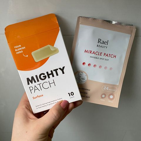 Empty and Newbie - Pimple Patch Comparison