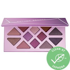 Amethyst Crystal Gemstone Eyeshadow Palette