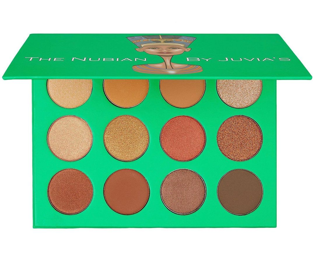 The Nubian Eyeshadow Palette