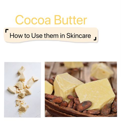 This is Why You should Apply Cocoa Butter