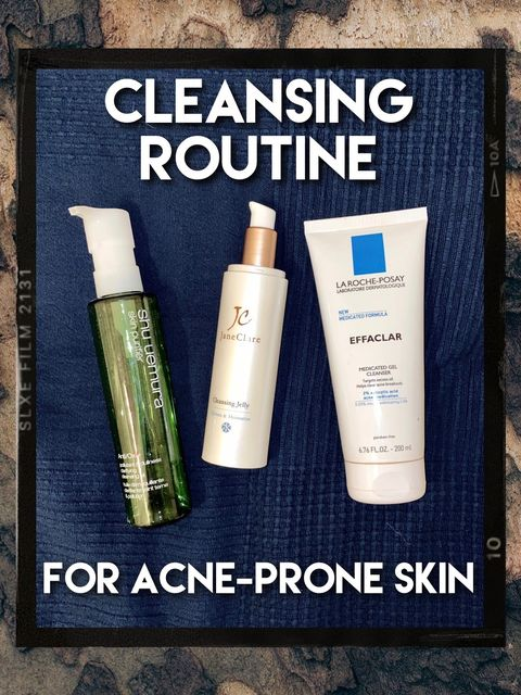Cleansing Routine For Acne-Prone Skin✨