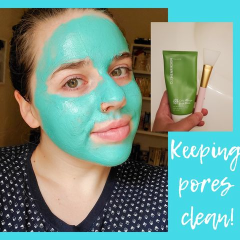 PORES stay clean with this mask!