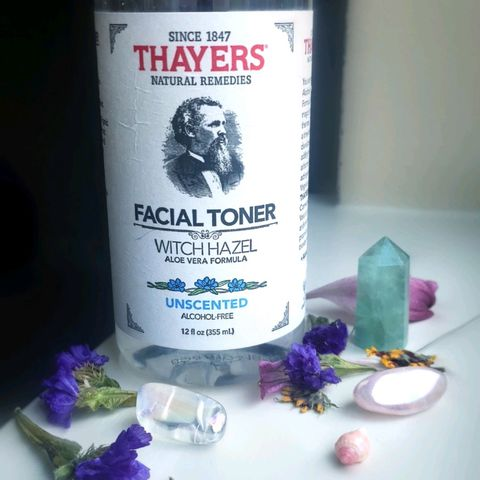 🌱My honest review: Thayers Witch Hazel Toner