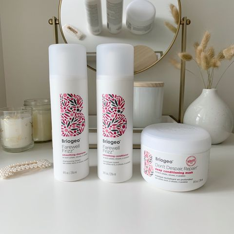Great duo for dry, damaged and frizzy hair!