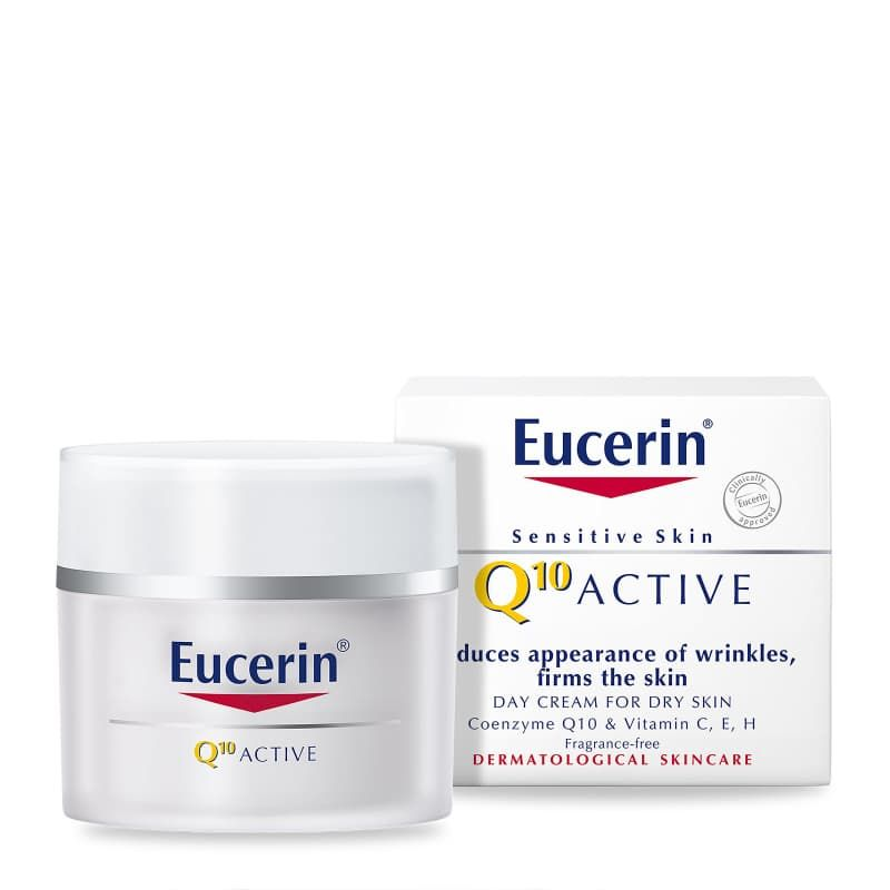 Q10 Active Anti-Wrinkle Day Cream for Sensitive Dry Skin