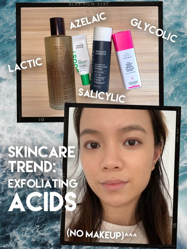 EXFOLIATING ACIDS & How Not To Overdo It!!!👀✨💖 | Cherie