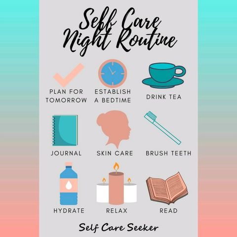 ✨night time routine for everyone to try ✨