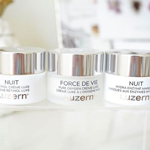 Luzern is a luxurious skincare