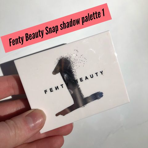 Fenty Beauty Snap Eyeshadow Palette
