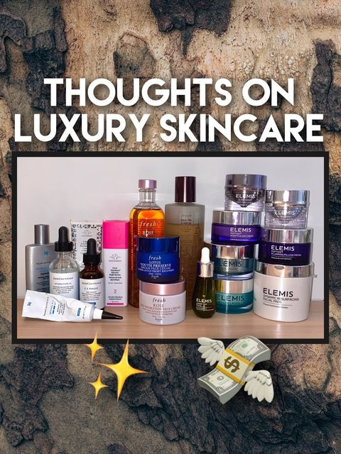 My Thoughts on LUXURY SKINCARE 💸✨ Worth it? p.1