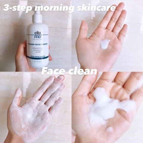 Follow this 3-step morning skincare to give your skin extra sleep😴