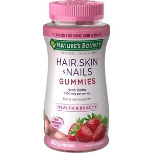 Optimal Solutions Hair, Skin and Nails Gummies