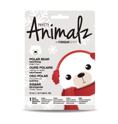 Holiday Pretty Animalz Polar Bear Sheet Mask